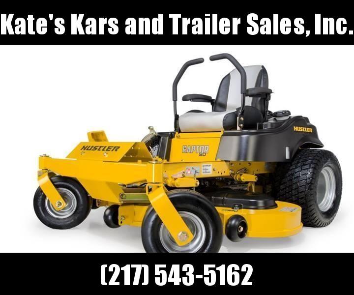 "2018 Hustler Raptor SD 48"" zero turn lawn mower for sale in Arthur Illinois"