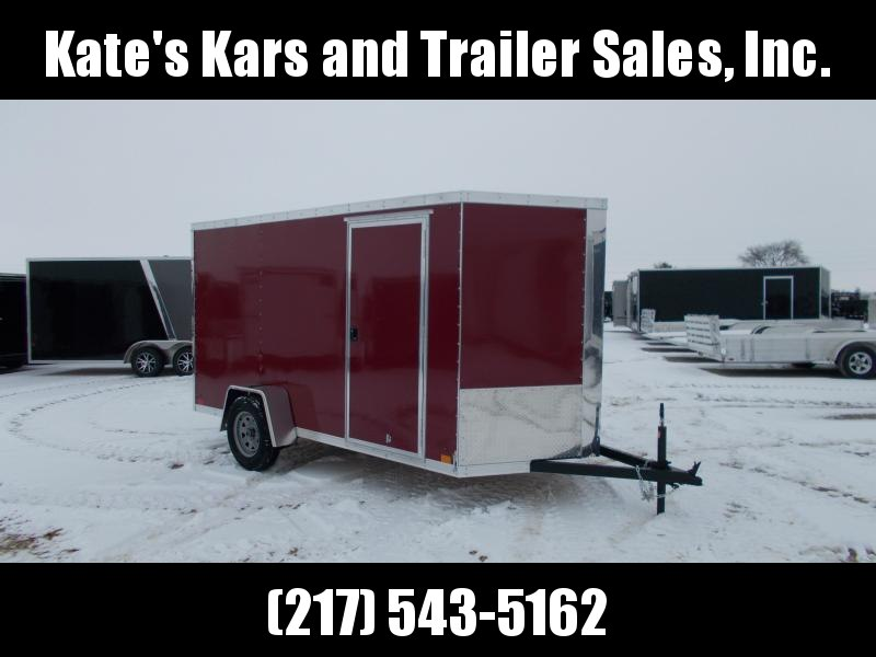 *NEW* Heavy Duty 6X12' Enclosed Trailer Cargo