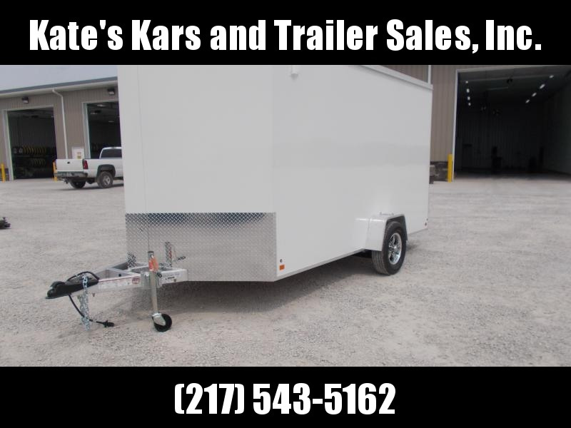 *NEW* Aluma 7X12' Enclosed Aluminum Cargo Trailer