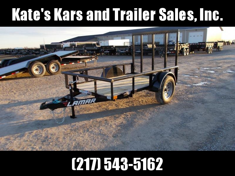 2019 Lamar PIPETOP 8' utility trailer for atv mowers