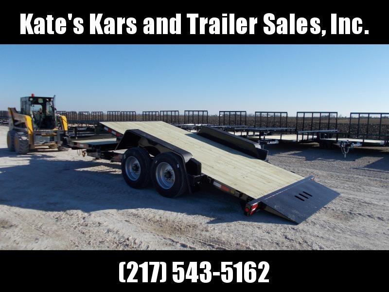 *NEW* ABSOLUTE BEAST B-B 83X20' Tilt Equipment Trailer 20K LBs Flatbed Trailer