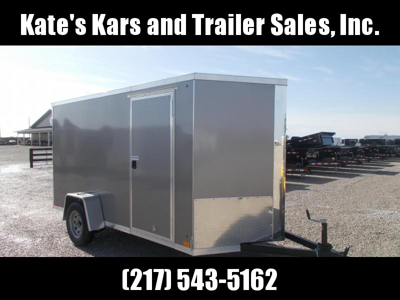 *NEW** Cross Trailers 6X12' Enclosed Screwless Side Trailer Enclosed Cargo Trailer