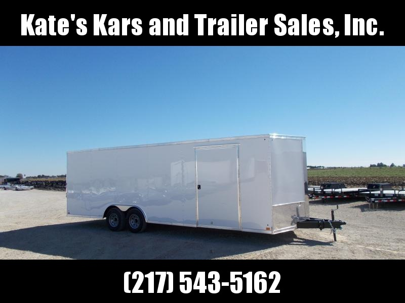 *NEW* 8.5X24' Cross HD 9990 LB GVWR Trailer Enclosed Cargo