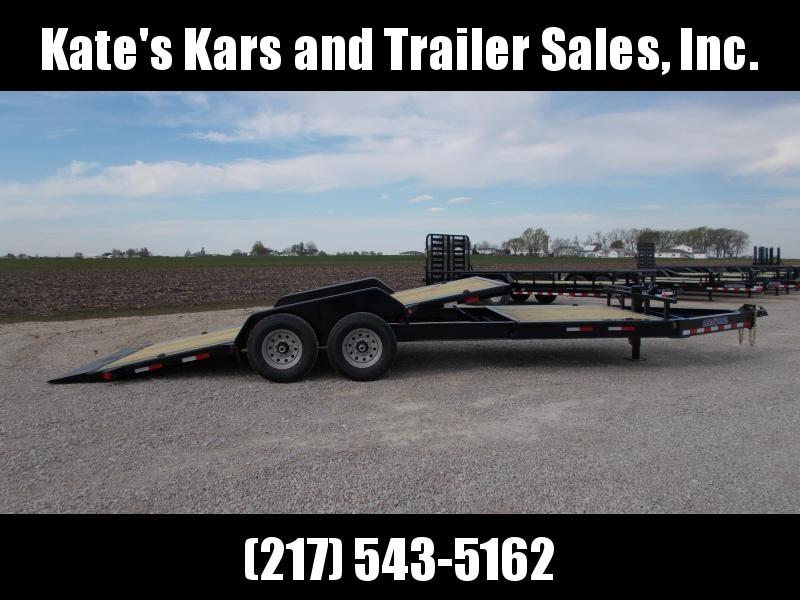 *NEW* Load Trail 83X22' Partial Tilt Bobcat Trailer Flatbed Trailer