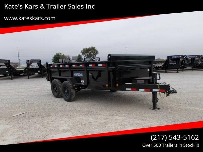 *NEW* DISCOUNTED !!! Load Trail 83x14' dump Trailer 14K LB