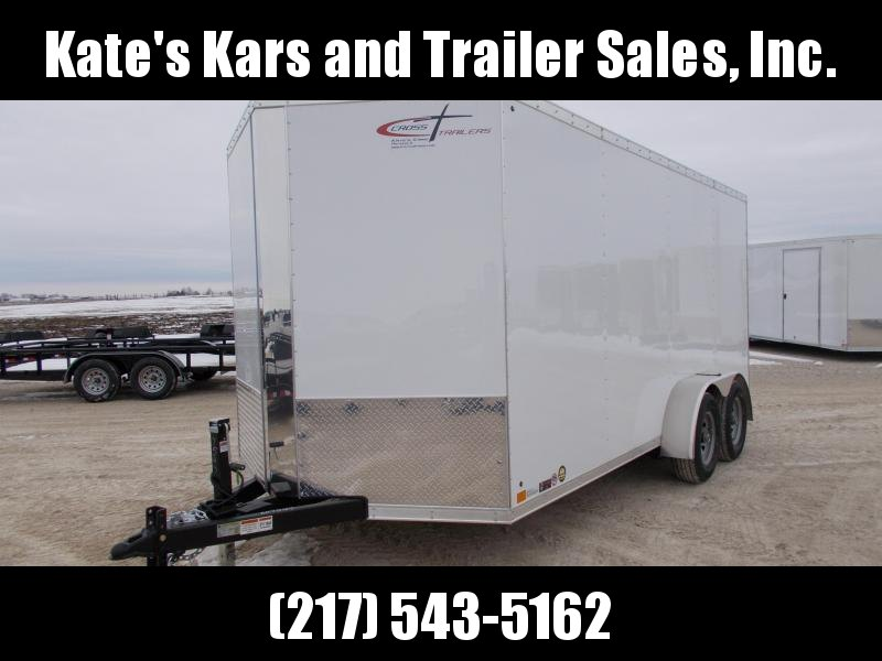 *NEW* Cross HD 7X16' Enclosed Cargo Trailer Extra tall