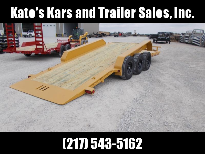 *NEW* Load Trail 22' 21000 LB Tilt Trailer Triple axle