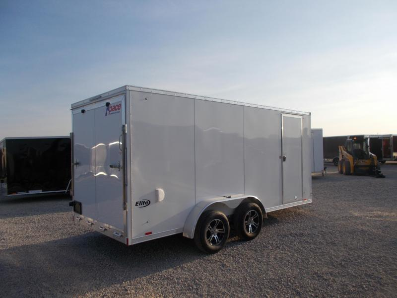 "2020 Pace American 7X16 All Aluminum 6"" Additional Height Enclosed Cargo Trailer"