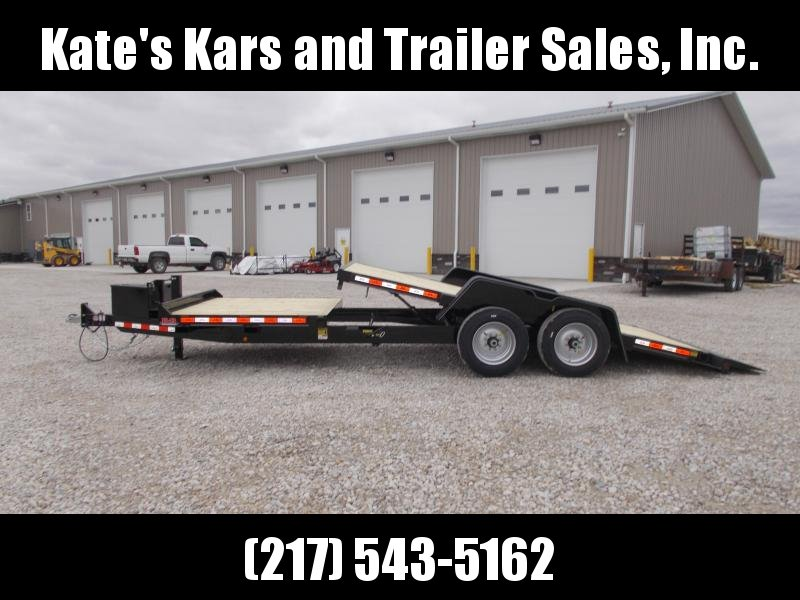 *NEW** Behnke B-B 22' TiltBed 16000 LB GVWR Equipment Trailer Tube Frame