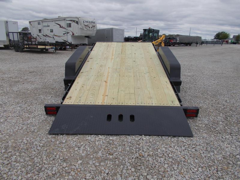*NEW** Behnke B-B 22' TiltBed 16000 LB GVWR Equipment Trailer Tube Frame