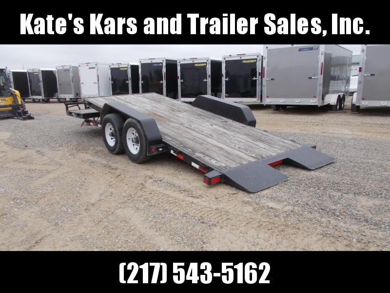2009 Load Trail Used 20' Tiltbed Flatbed Trailer 14K LB