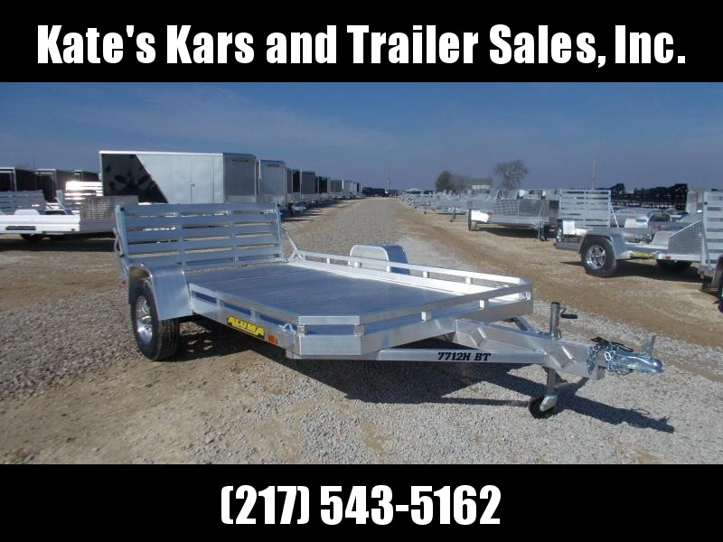 2020 Aluma 7712HBT Aluminum Utility Trailer Equipment Trailer in Ashburn, VA