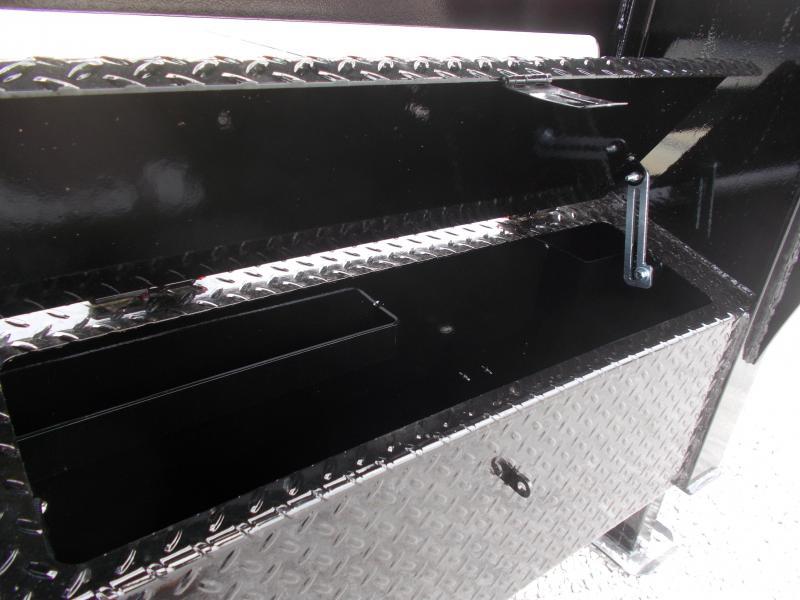 *NEW**  Midsota 36' Hydraulic Dovetail Gooseneck Flatbed Trailer Hydro Jacks Engineered I Beam