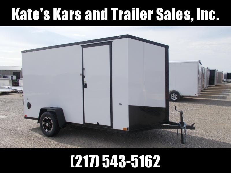 BLACKOUT TRIM PACKAGE 6X12' Formula Trailers  Enclosed Cargo Trailer