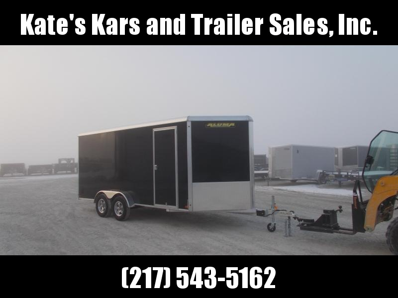 2020 Aluma 7X16' Aluminum Trailer Enclosed Extra Tall Cargo