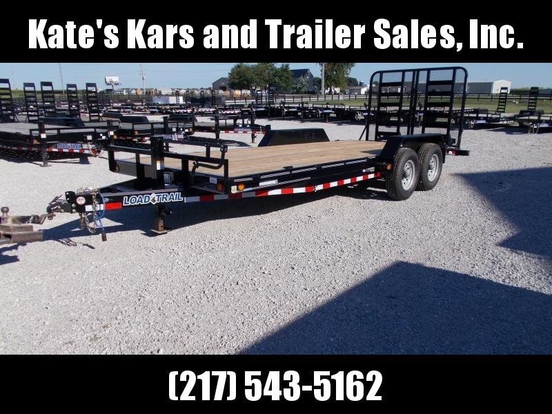 *NEW* Load Trail 20' Equipment Trailer 5' HD SPLIT GATE 14K LB