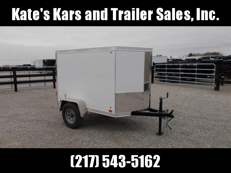 *NEW* Cross 4x6' Enclosed Cargo Trailer