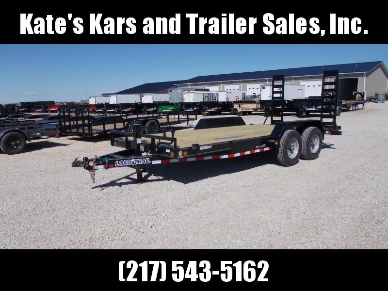 2019 Load Trail 83x18 Equipment bobcat trailer Equipment Trailer