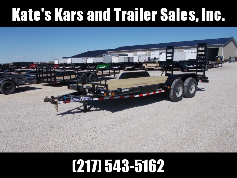 *NEW* Load Trail 14000 LB GVWR 83x18' Equipment bobcat trailer Trailer