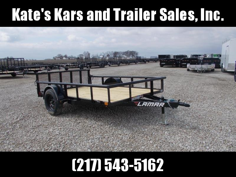 2019 Lamar Trailers 10' ATV Trailer Bi Fold Gate Utility Trailer