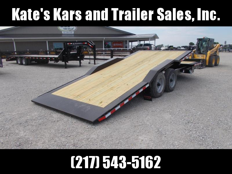 "16000 LB GVWR  Midsota  Tiltbed 102""X22'  Equipment Trailer Flatbed TBWB"