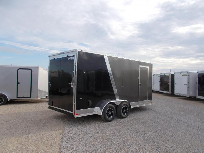 "*NEW* Formula Two Tone UPGRADED 7X16' 12"" Additional Height Enclosed Cargo Trailer"