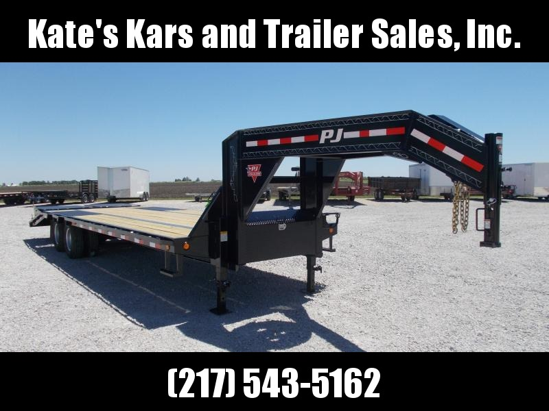 MAKE OFFER!! PJ Trailers 102X28' 25K GVWR Flatbed Gooseneck Trailer