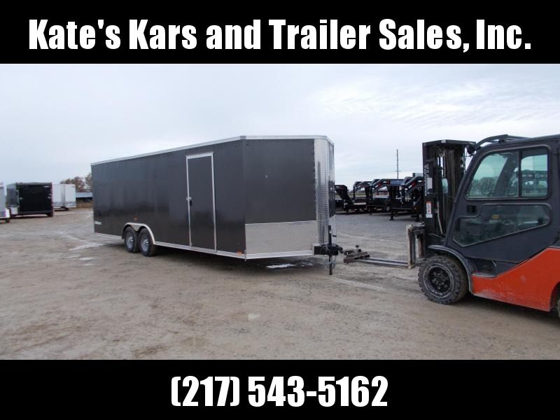 *NEW* Cargo Express 8.5X24' HD 9990 LB GVWR Trailer Enclosed Cargo