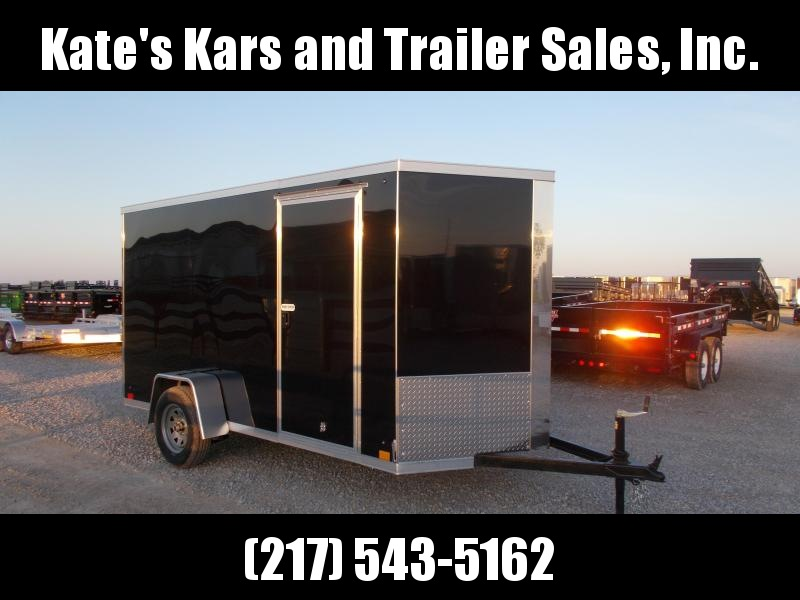 2020 Cross Trailers 6X12 Heavy Duty Enclosed Cargo Trailer
