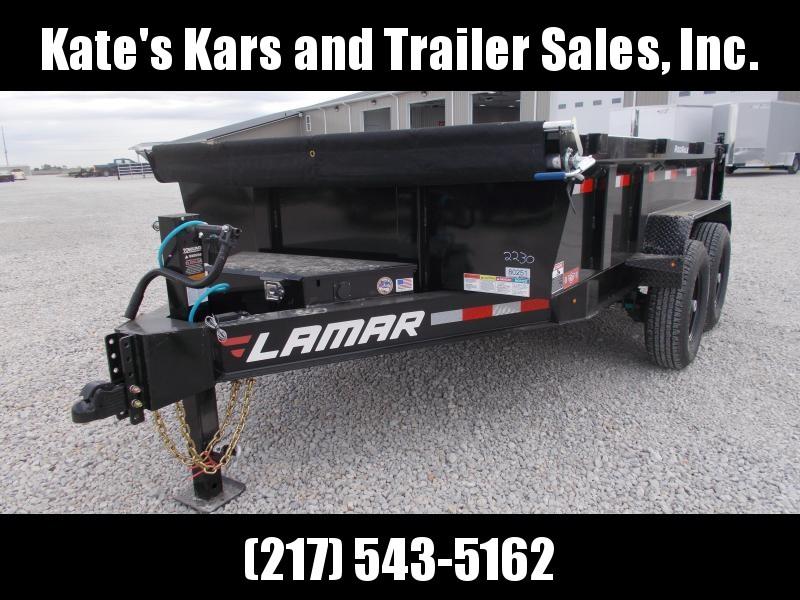 *NEW* Lamar 83X12' Dump Trailer 14K LB Dump Box for sale HD 7 GA Floor