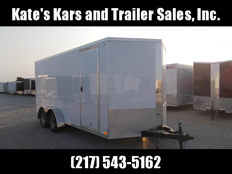 NEW!! Cross 7X16' Extra Tall Screwless Sides Enclosed Cargo Trailer in Ashburn, VA