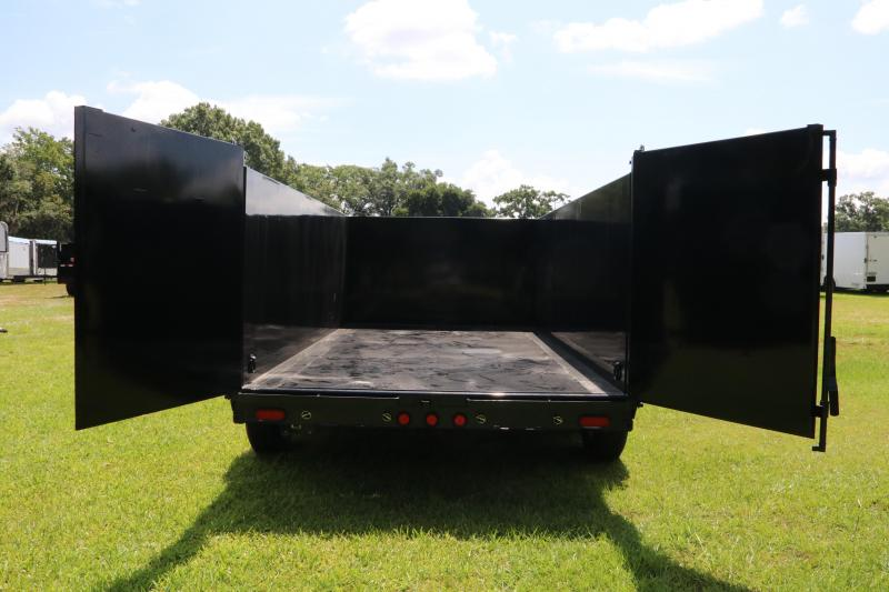 7x14x4 PJ Trailers   Dump Trailer