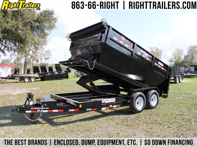 7x14x4 PJ Trailers | Roll Off Dump Trailer in Ashburn, VA