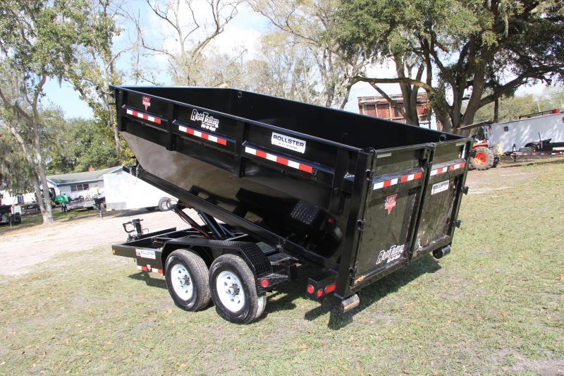 7x14x4 PJ Trailers | Roll Off Dump Trailer