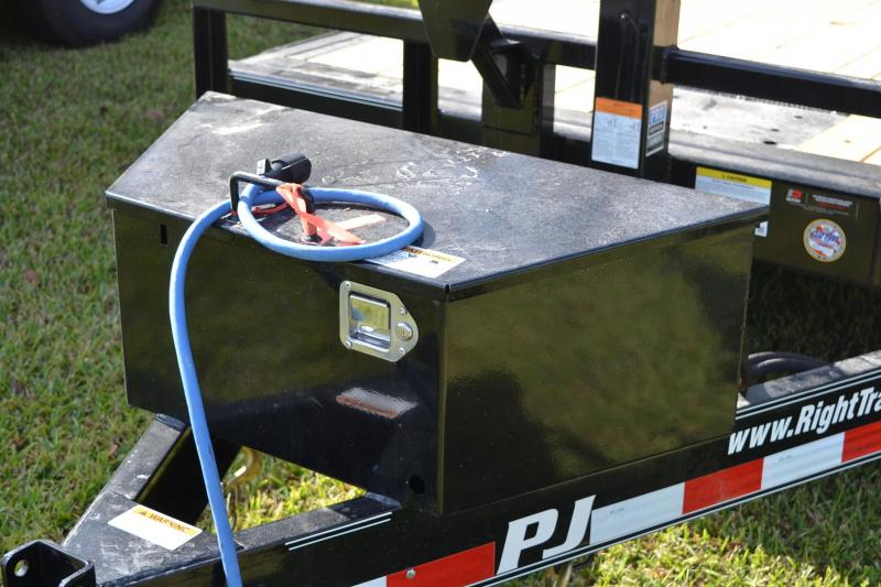 7x20 PJ Trailers | Tilt Deck Equipment Trailer