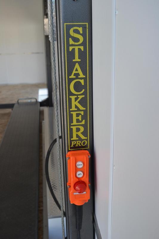 8.5x26 Team Spirit | Enclosed Stacker Trailer