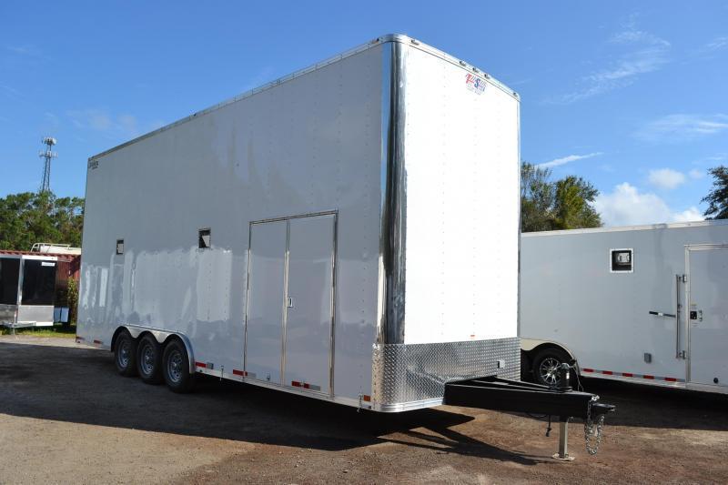 8.5x26 Team Spirit | Enclosed Car / Racing Trailer