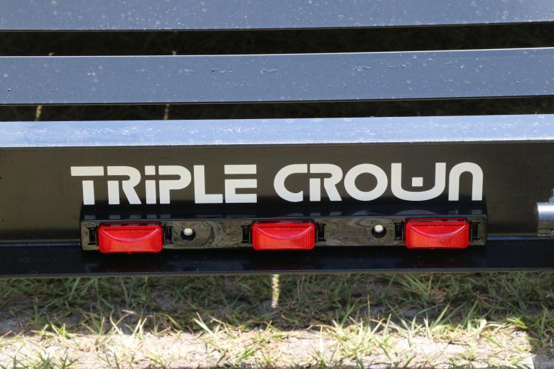 7x18 Triple Crown Trailers | Equipment Trailer