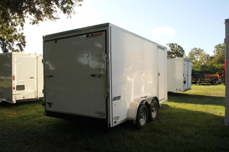 7x14 Pace American Trailer | Enclosed Trailer
