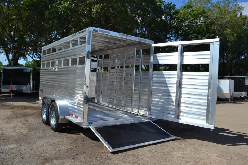 6 8 X16 Cm Horse Trailer All Aluminum Horse Trailer Right