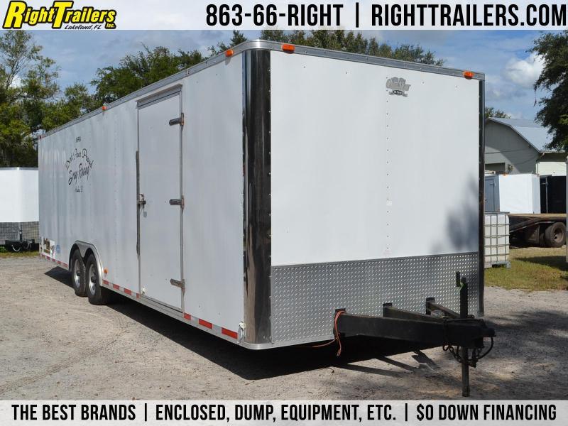 USED: 8.5x28 CargoMate | Race Car Trailer