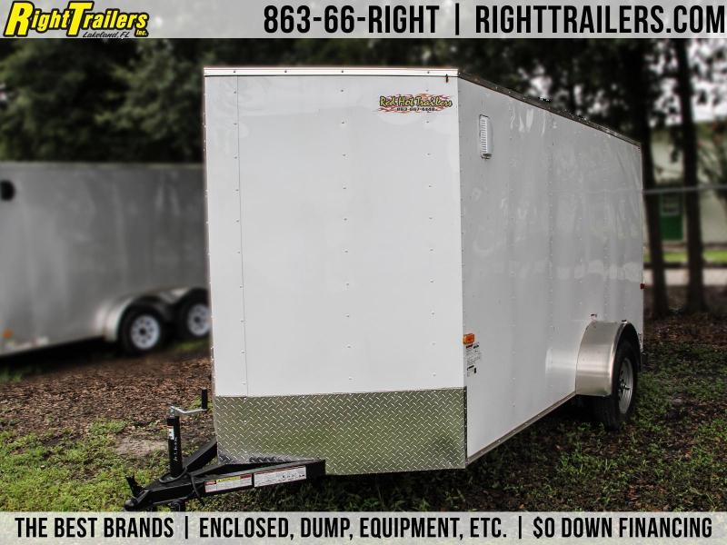 6x12 Cargo Craft Trailer | Enclosed Trailer