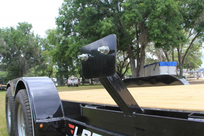 7x16 Lamar Trailers | Open Car Hauler