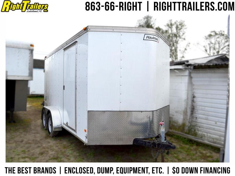 USED: 2013 7x14 Haulmark Enclosed Trailer | Cargo Trailer
