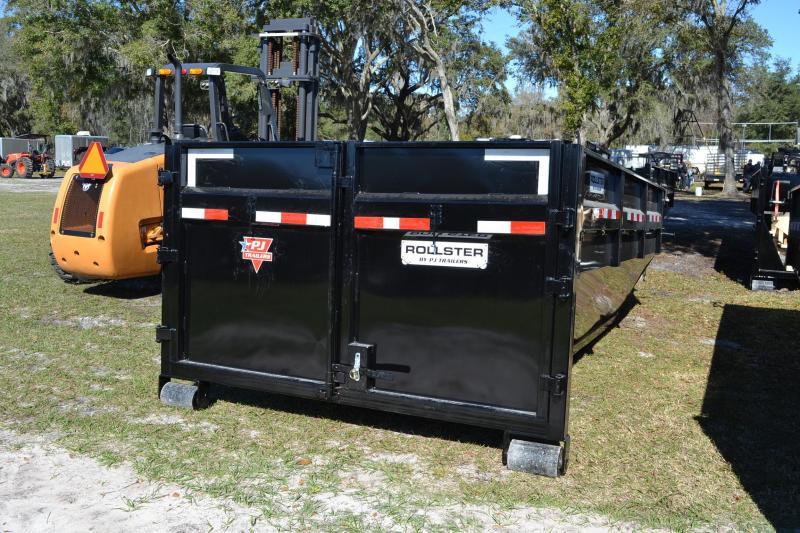 7x14 PJ Trailers | Dumpster Bin