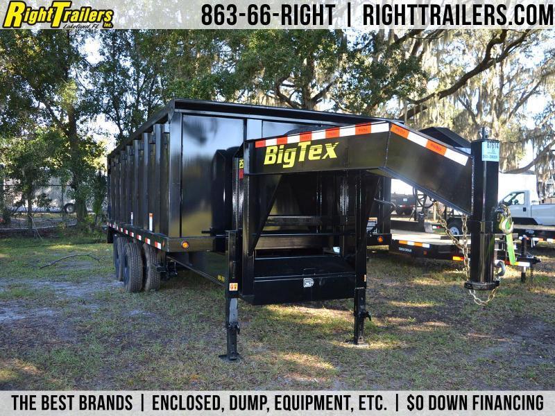 8x20x4 Big Tex Trailer | Dump Trailer