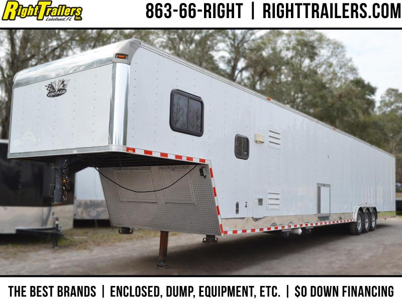 Used: 2008 - 50' Gooseneck - Vintage Trailers | Living Quarters Trailer | Car / Racing Trailer in Ashburn, VA