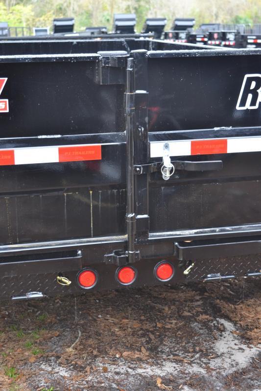 7x12 PJ Trailers   Dump Trailer