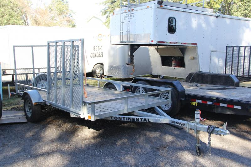 USED: 6.5x12 Continental Trailers | ATV Trailer