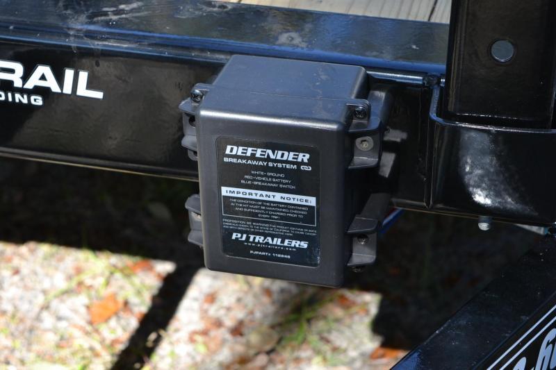7x14 PJ Trailers   Utility Trailer
